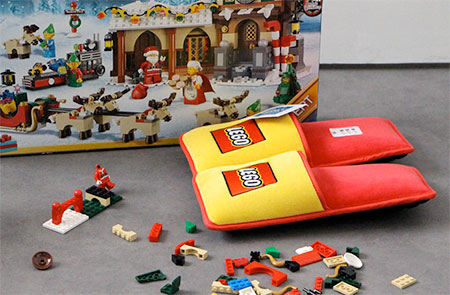 Official LEGO Slippers
