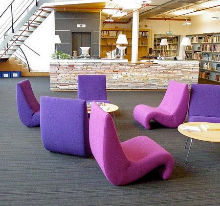 Library Book Desk