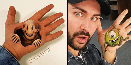 3D Hand Paintings