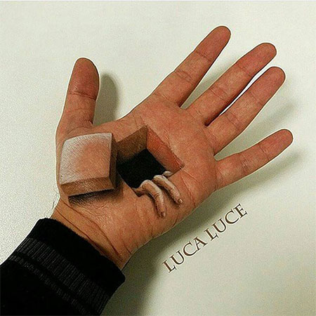 3D Illusion Hand Paintings
