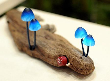 LED Mushroom Lamp