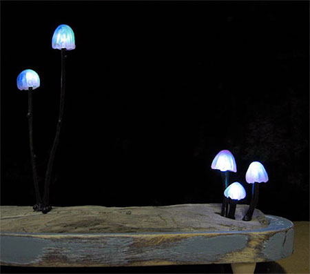 Yukio Takano Mushroom Lamps