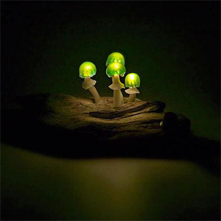 Yukio Takano Mushroom Lamp