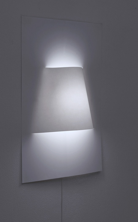Wall Lamps Made of Paper