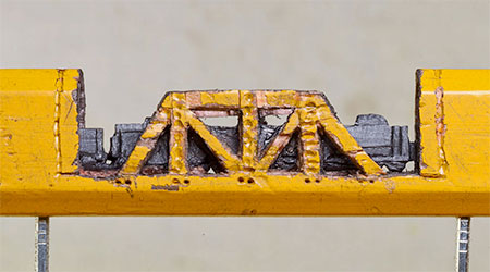 Cindy Chinn Train Pencil Carving