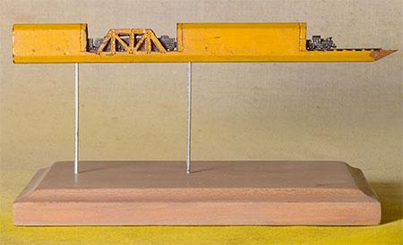 Cindy Chinn Pencil Train