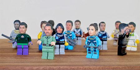 Realistic LEGO Heads