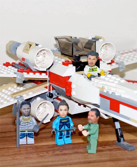Realistic LEGO Faces