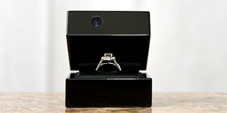 Engagement Ring Box Camera