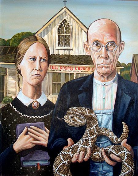 Snakes in Art