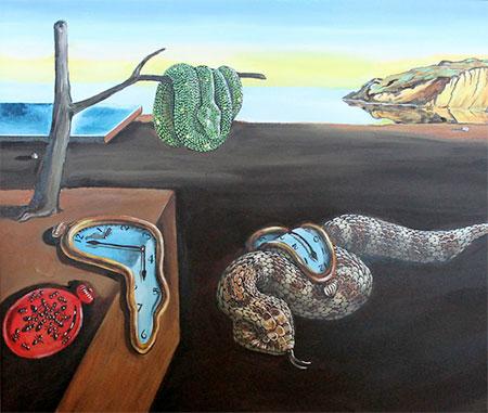 Snake Artist Bill Flowers