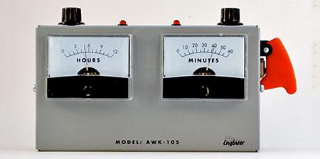 Voltmeter Alarm Clock