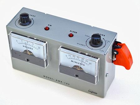 Analog Voltmeter Alarm Clock