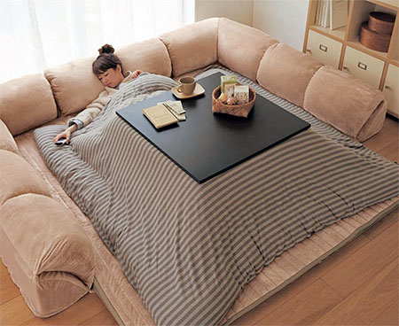 Japanese Table Bed