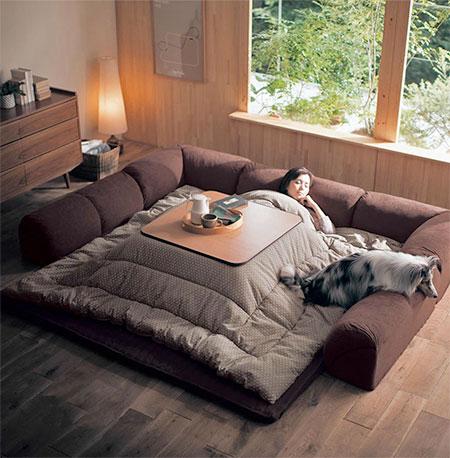Kotatsu Table Bed
