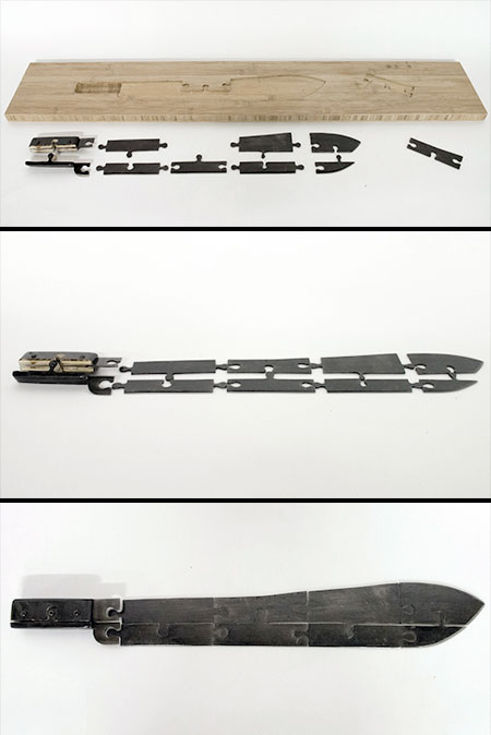 Knife Puzzle