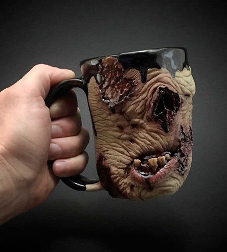 Turkey Merck Zombie Mugs