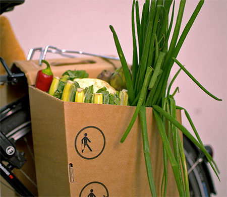 PACKTASCHE Bicycle Grocery Carrier