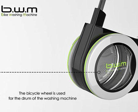 Stationary Bike Washing Machine