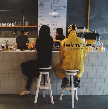 Breaking Bad Themed Coffee Shop