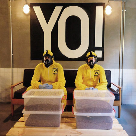 Breaking Bad Themed Cafe