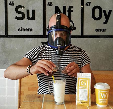 Deniz Kosan Breaking Bad Coffee