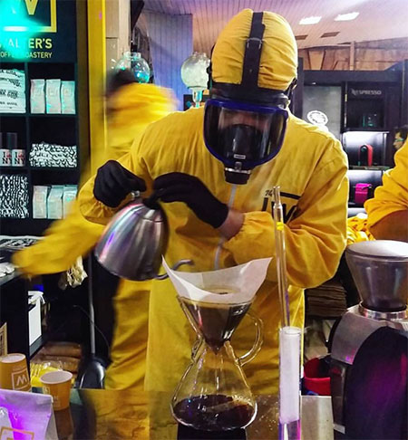 Deniz Kosan Breaking Bad Themed Coffee Shop