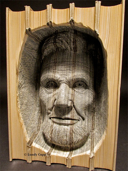 Book Sculptures by Lundy Cupp
