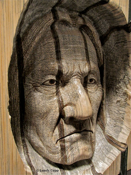 Lundy Cupp Book Carvings