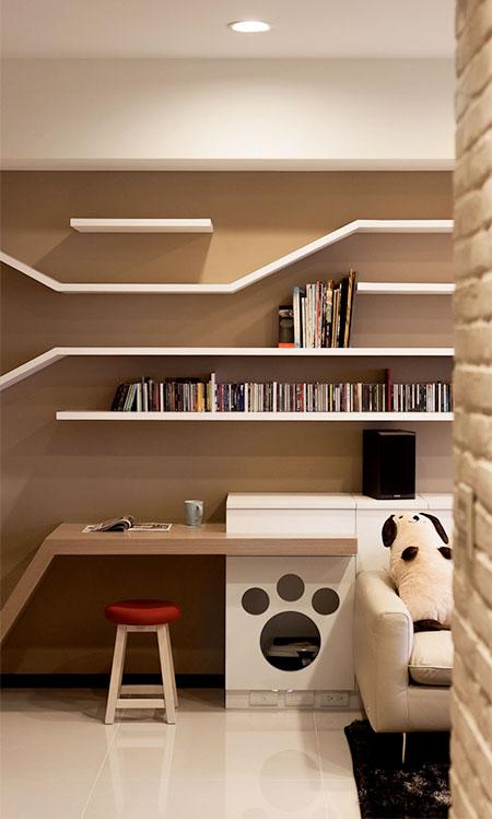 Cat Bookshelves Playground