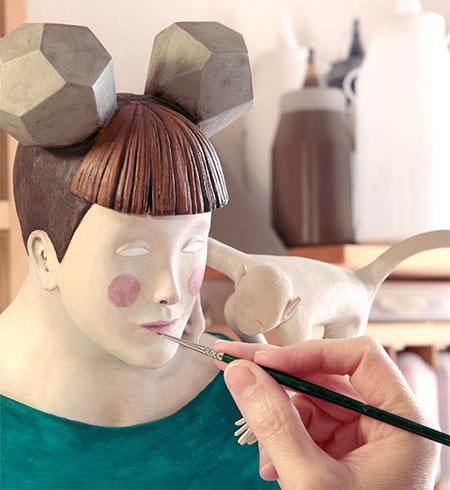 Irma Gruenholz Clay Art