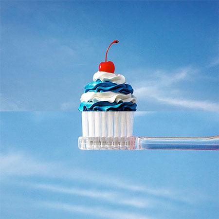 Cupcake Toothbrush