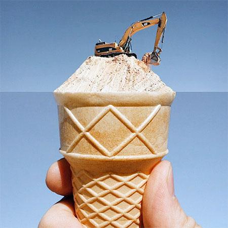 Ice Cream Excavator