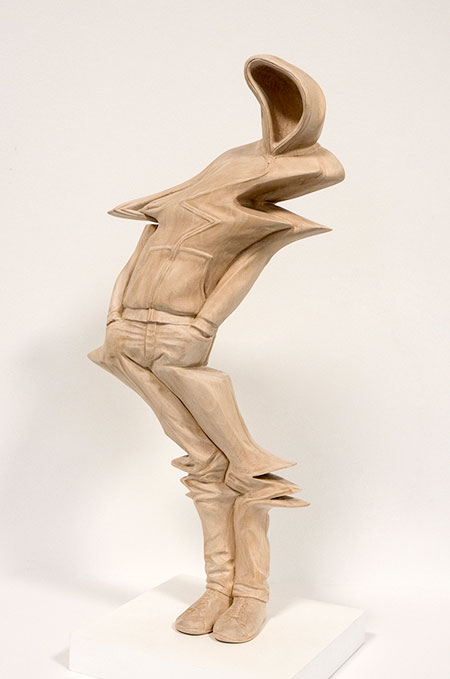 Distorted Wooden Sculptures