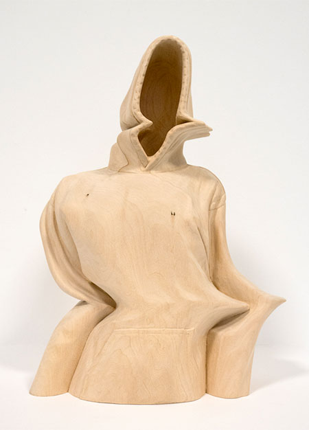 Distorted Wooden Sculpture