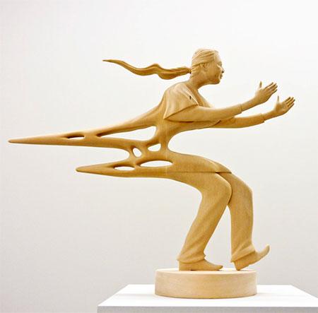 Paul Kaptein Distorted Sculptures