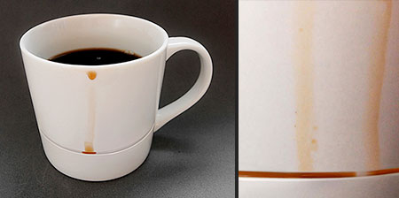 Drip Catcher Coffee Mug
