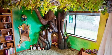 Fairy Tree Bedroom