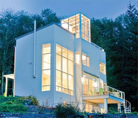 Designs Northwest Architects Fire Pole