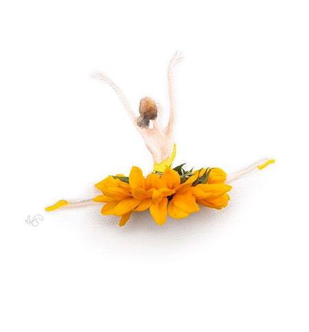 Lim Zhi Wei Flower Petal Art