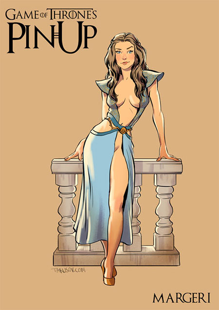 Game of Thrones Pin Up