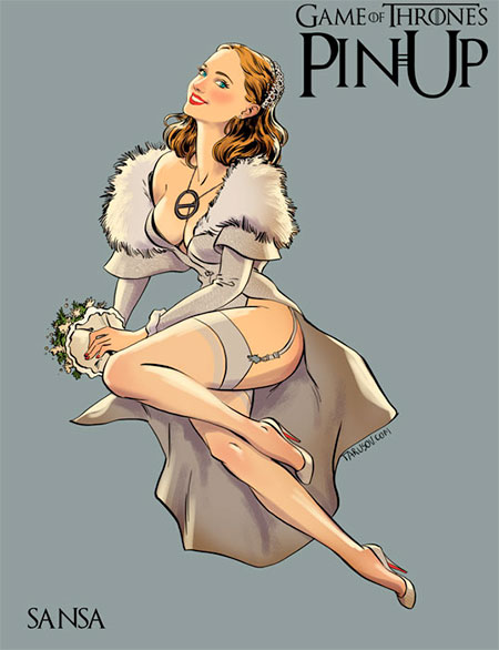 Andrew Tarusov Game of Thrones Pin Ups
