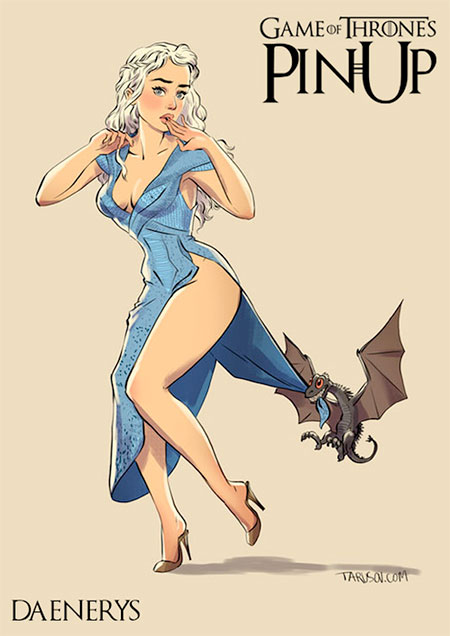 Game of Thrones PinUp