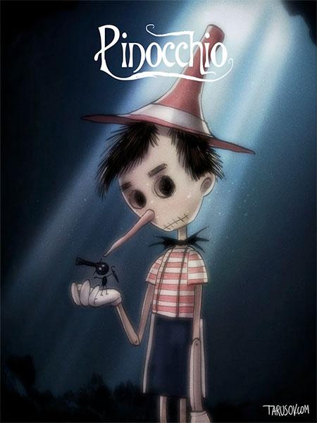 Andrew Tarusov Tim Burton Disney