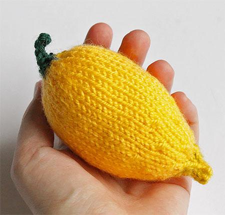 Knitted Lemon