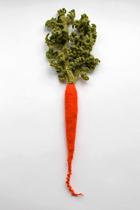 Knitted Carrot