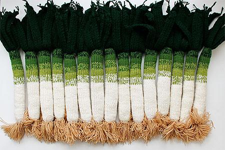 Knitted Leek