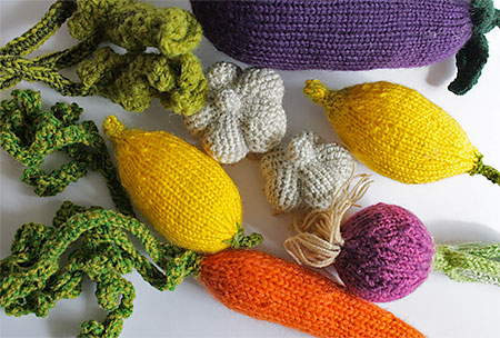MapleApple Knitted Vegetables
