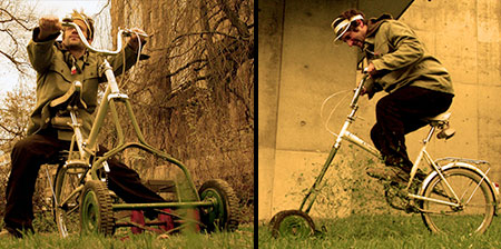 Lawnmower Bicycle
