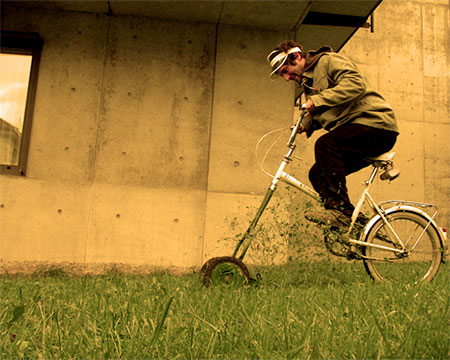 Lawn Mower Bike